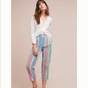 Rainbow Stripped Pants